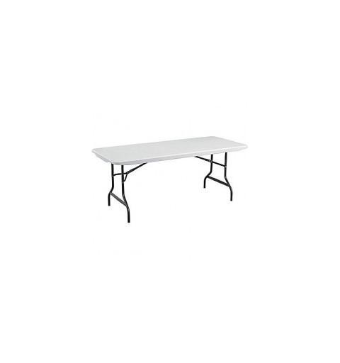 Petite table à pieds pliants 122x61cm