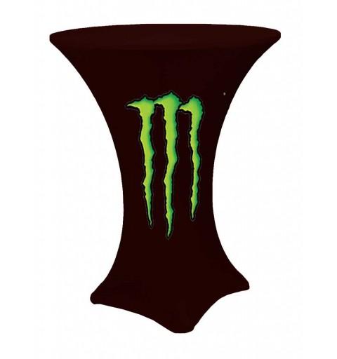 Housse de mange-debout avec logo personnalisé en hauteur