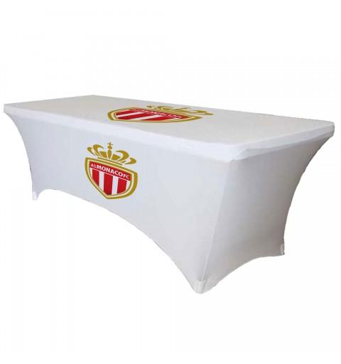 Housse de table avec 2 logos personnalisés