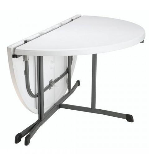 Table ronde valise à pieds pliants diamètre 152cm