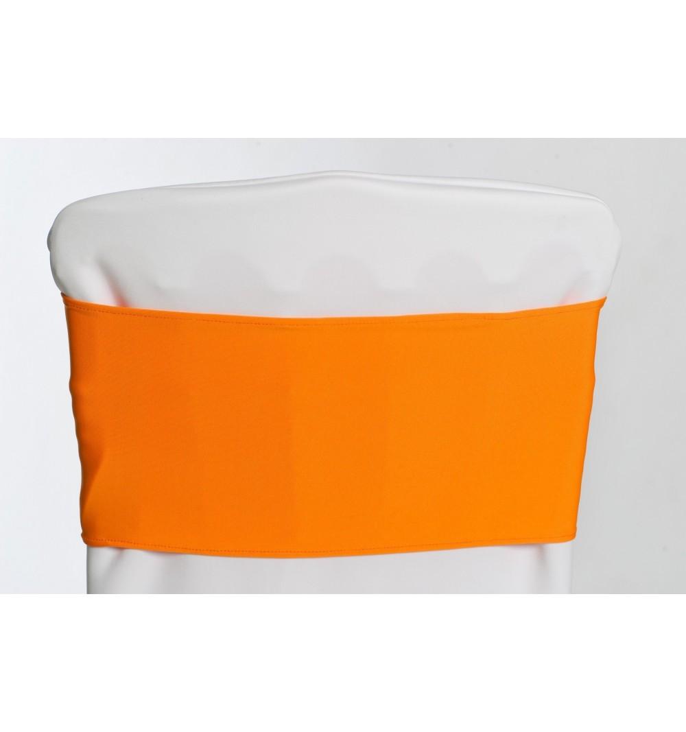 Bandeaux en lycra Orange