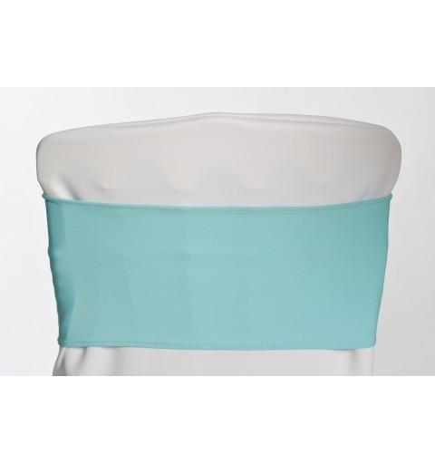 Bandeaux en lycra Bleu Turquoise