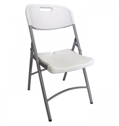 Chaise pliante ajourée