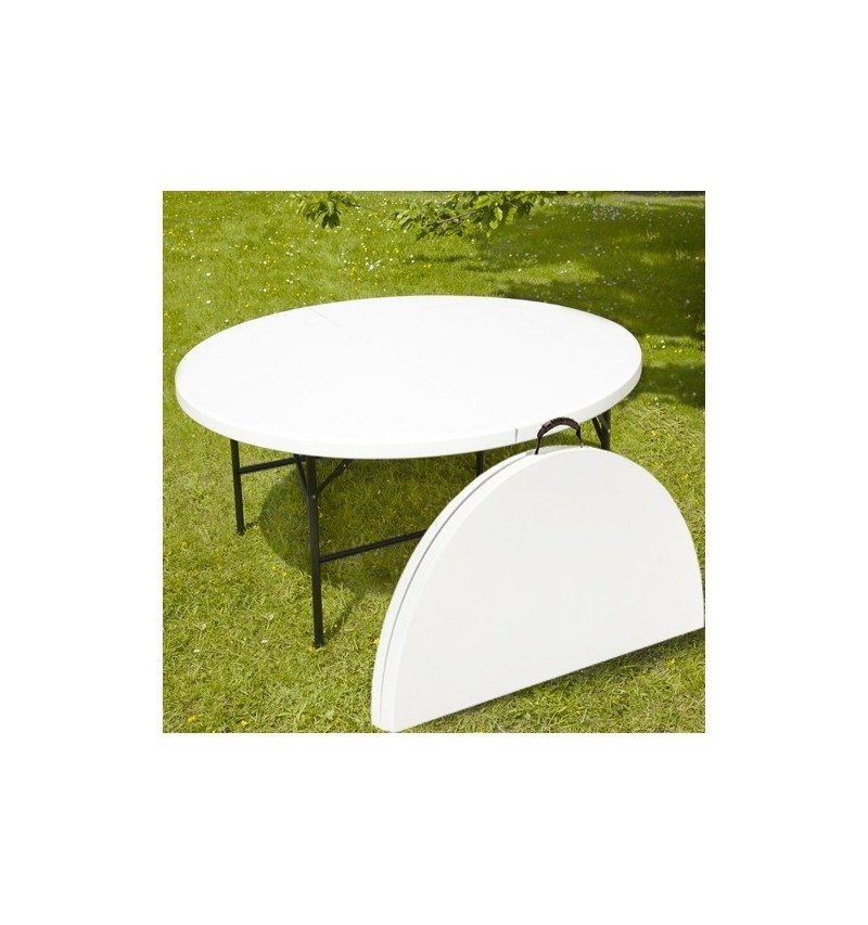Table valise ECO ronde D183cm