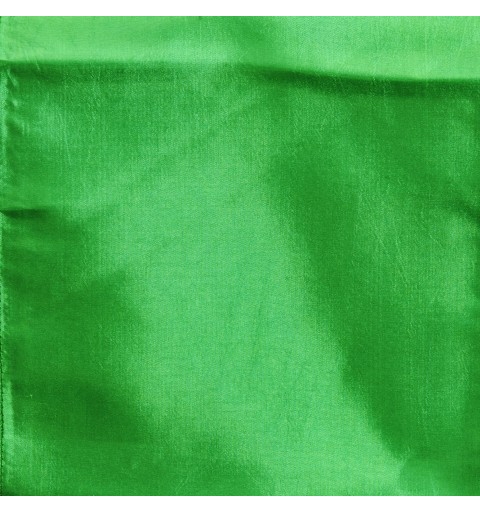 Ceinturage en Taffetas Vert Gazon