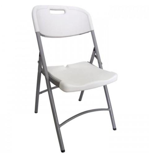 Lot de 4 chaises pliantes ajourées