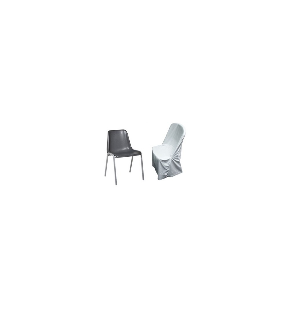 housse de chaises polyester coton pour chaise coque. Black Bedroom Furniture Sets. Home Design Ideas