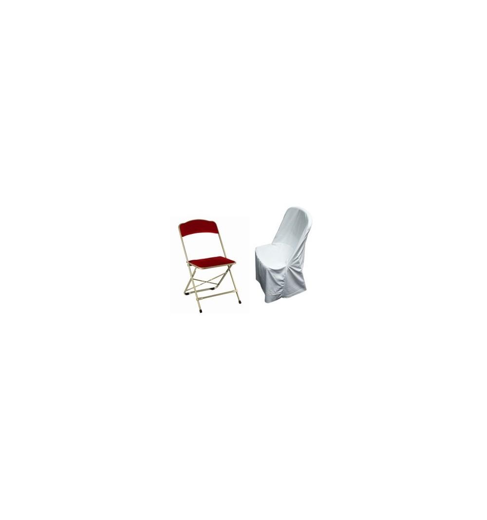 Polyester standard chaise pliante
