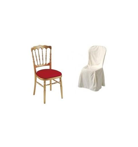 Polyester supérieur chaise napoléon