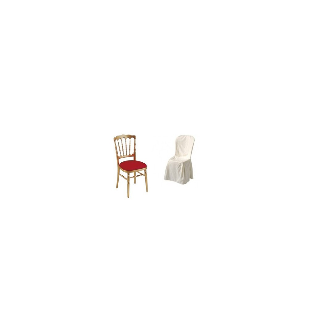 Polyester extra souple supérieur chaise napoléon