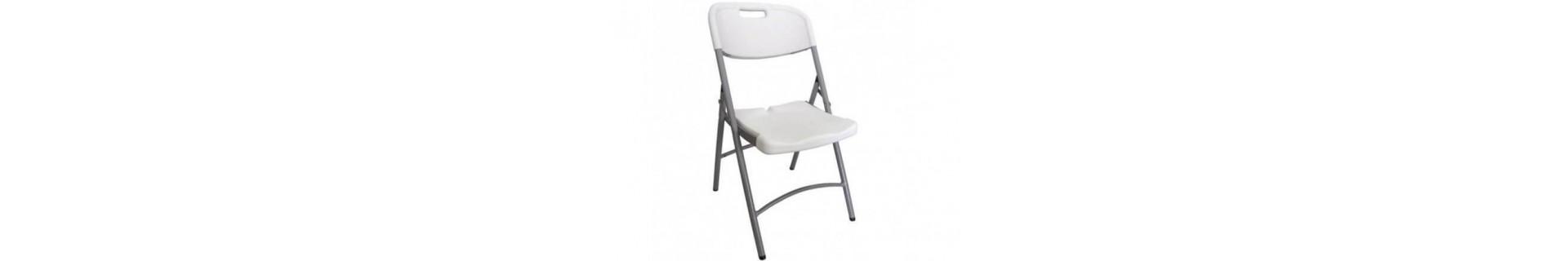 vente de chaises pliantes et autres assises