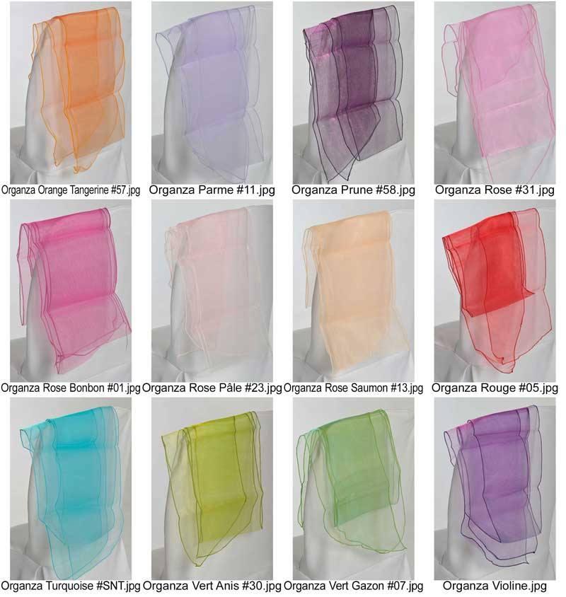 coloris organza mes jolies tables. Black Bedroom Furniture Sets. Home Design Ideas