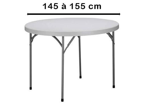 Rond 145 à 155 cm
